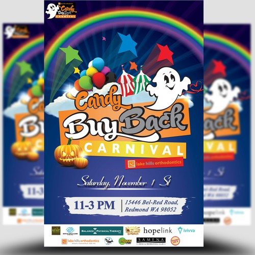 Candy Buy Back Carnival Poster