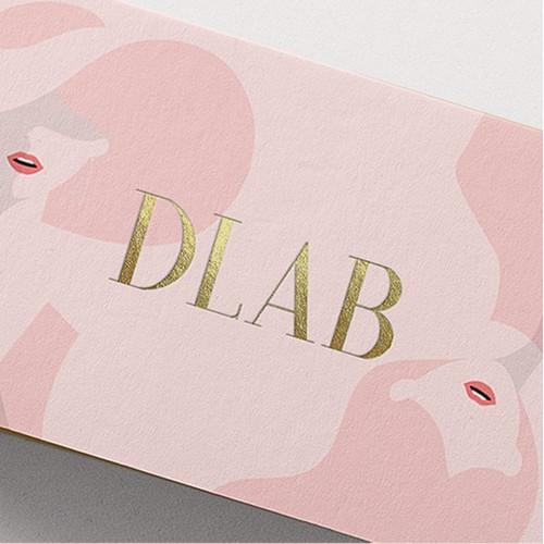 Unique branding designs for DLAB