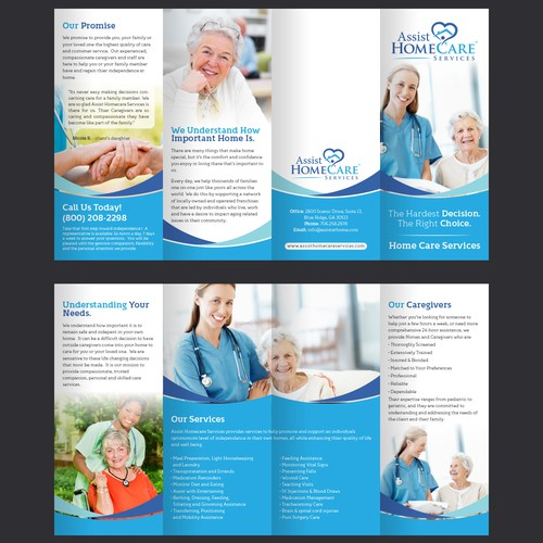 Brochure for Home Health Agency