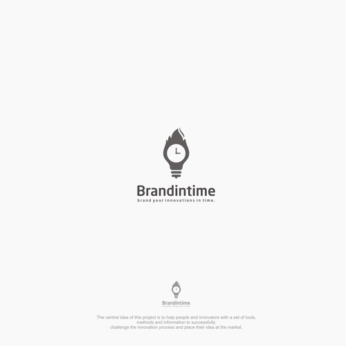 Create a logo which helps to brand your innovations in time