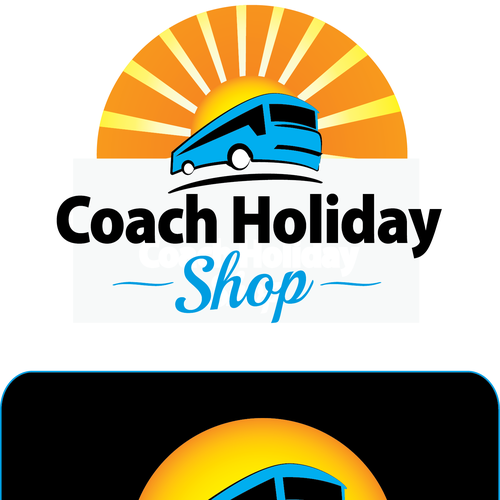Create a logo for Coach Holiday Shop