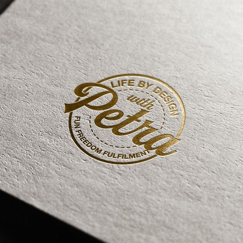 "Logo Design for ""Life by design with Petra"""