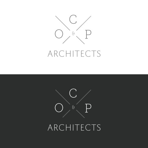 A chance to create a new modern designer image for an architectural firm!