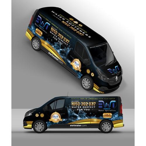 Golden Water Specialist Van