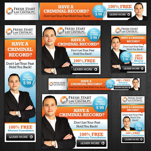 banner ad for Fresh Start Law Center, PC.