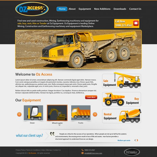 Oz Access needs a new website design