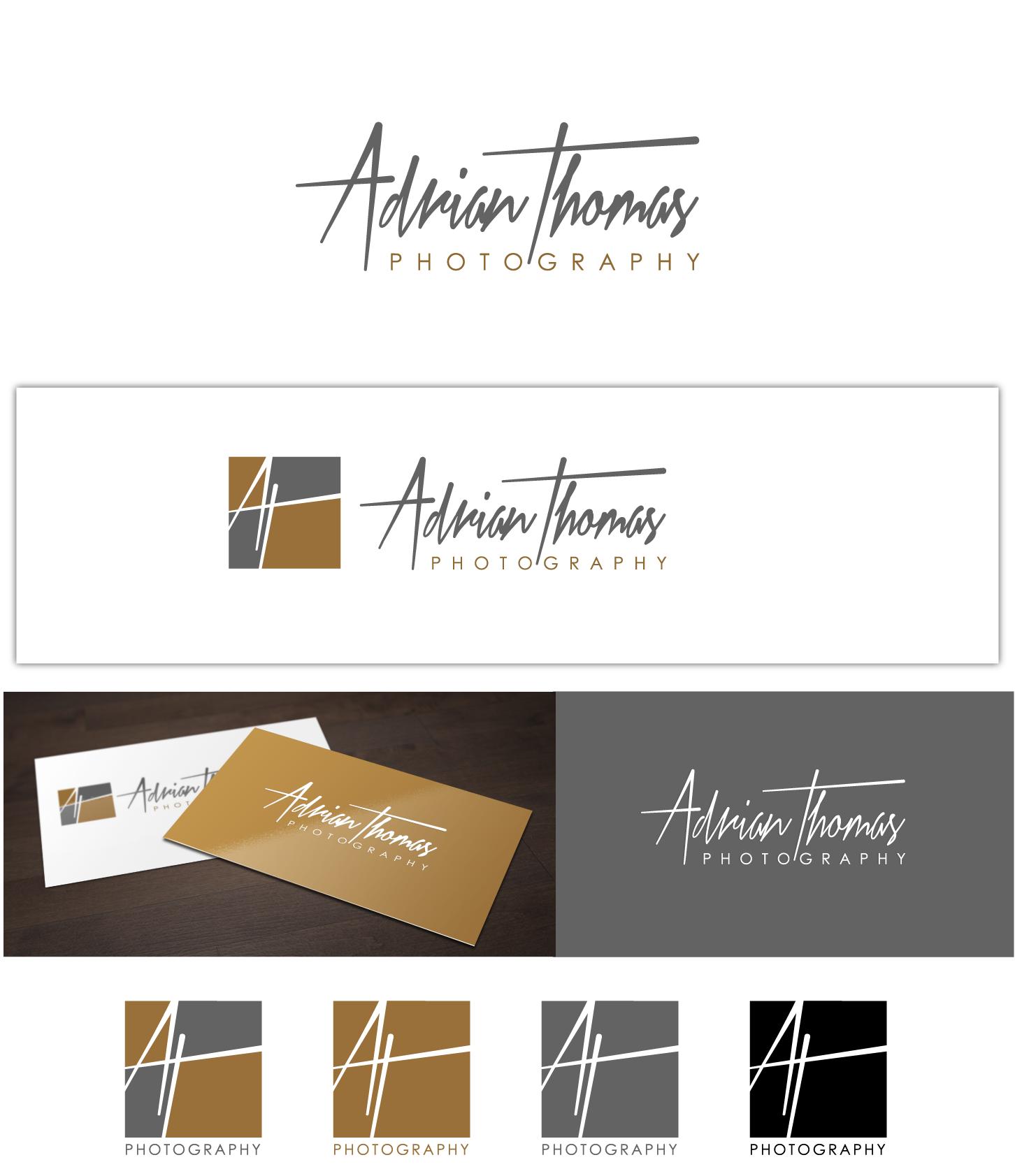 New design Logo for Adrian Thomas Photography