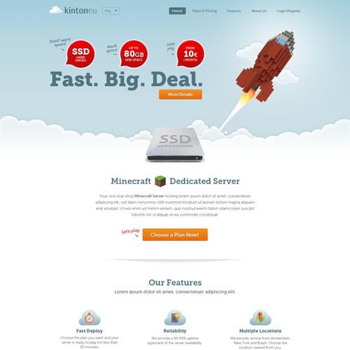 New website design: kinton.eu