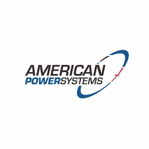 Bold Logo for American Power Systems