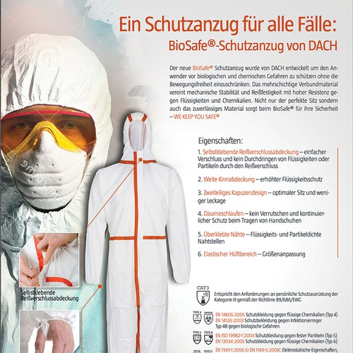 Coverall for all hazards