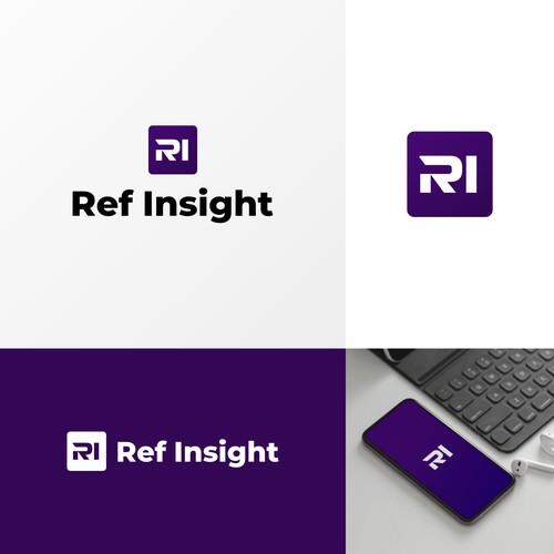 Ref Insight Logo Design Concept
