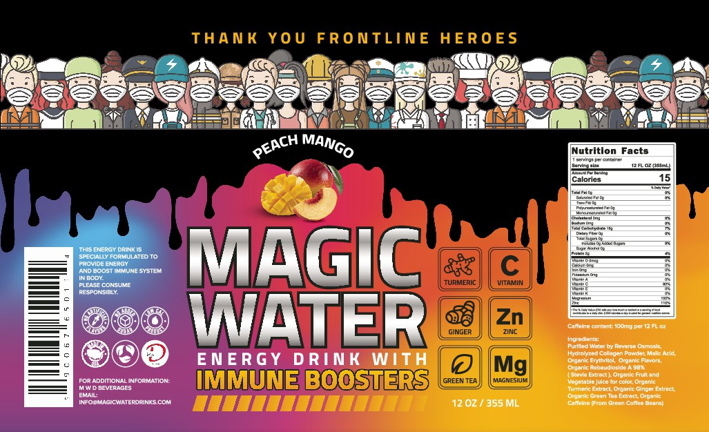 MAGIC WATER ENERGY DRINK WITH IMMUNE BOOSTER