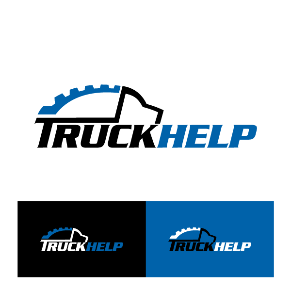Create the next logo for TruckHelp.com