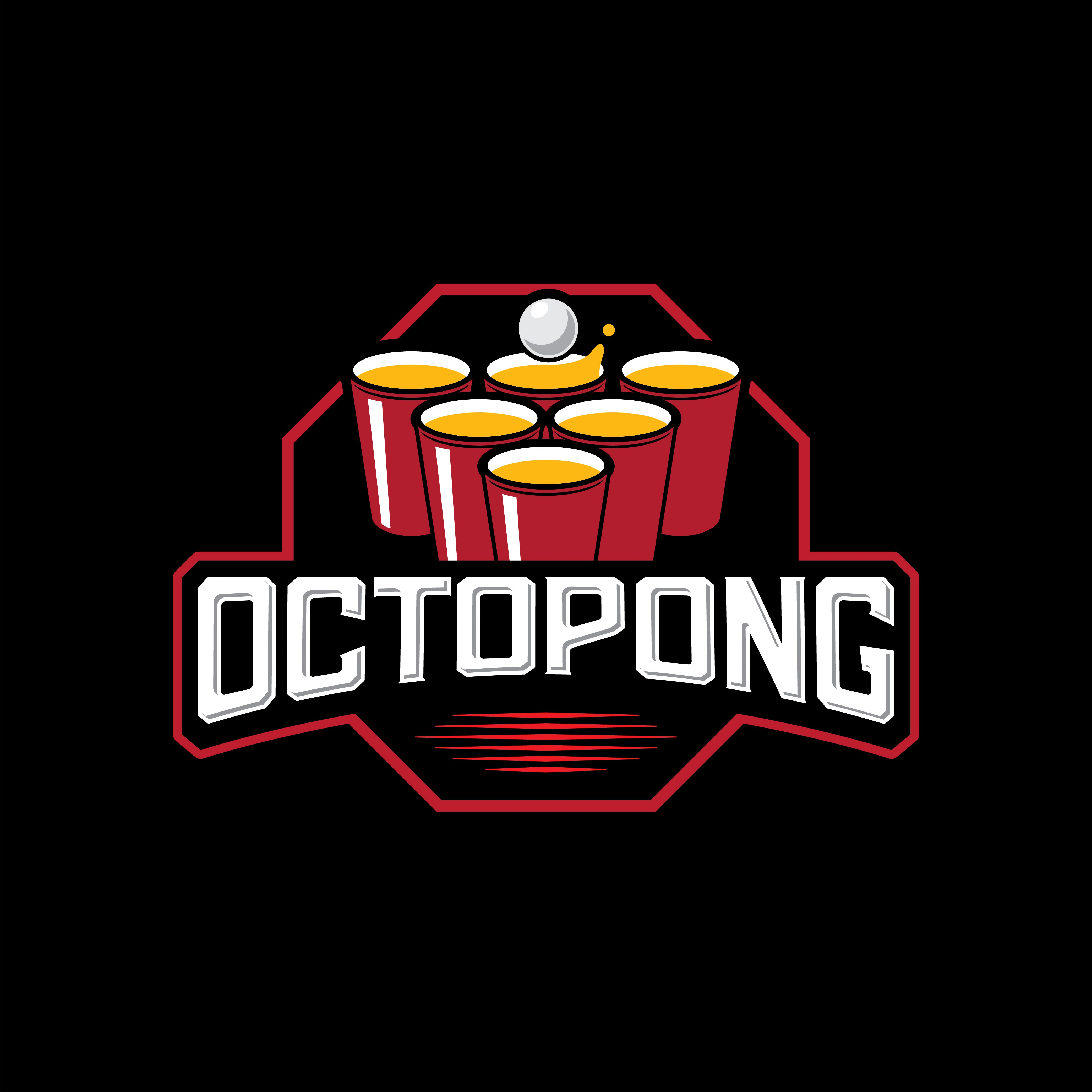 """Octopong """"Beer Pong on Steroids"""" needs an awesome logo"""