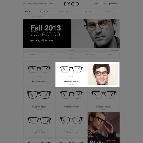 website design for EYCO