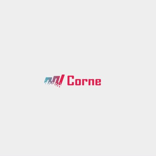 Simple logo for digital company