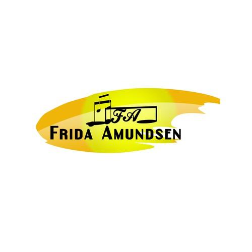 Make logo type for famous Scandinavian singer!
