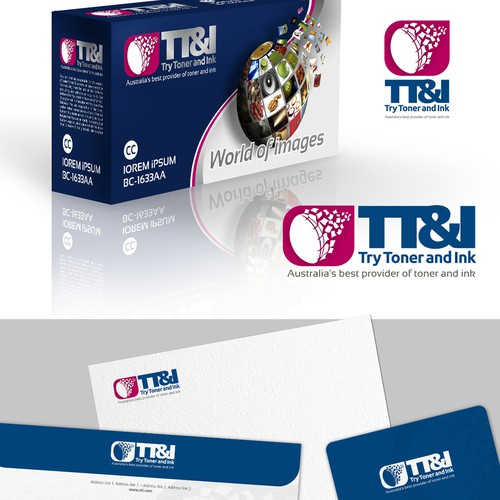 Create branding for new website try toner and ink