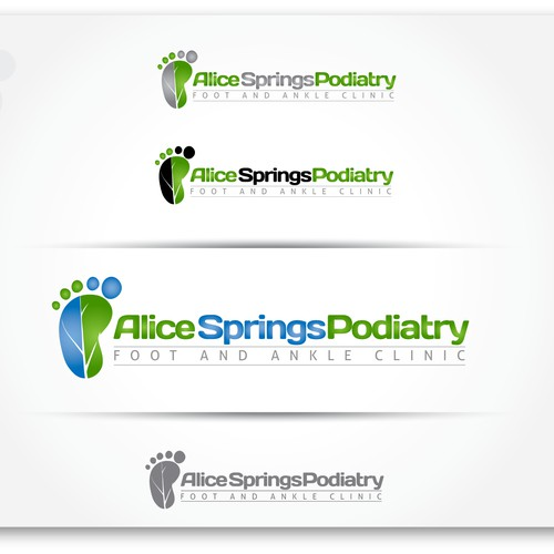 Alice Springs Podiatry  needs a new logo and business card