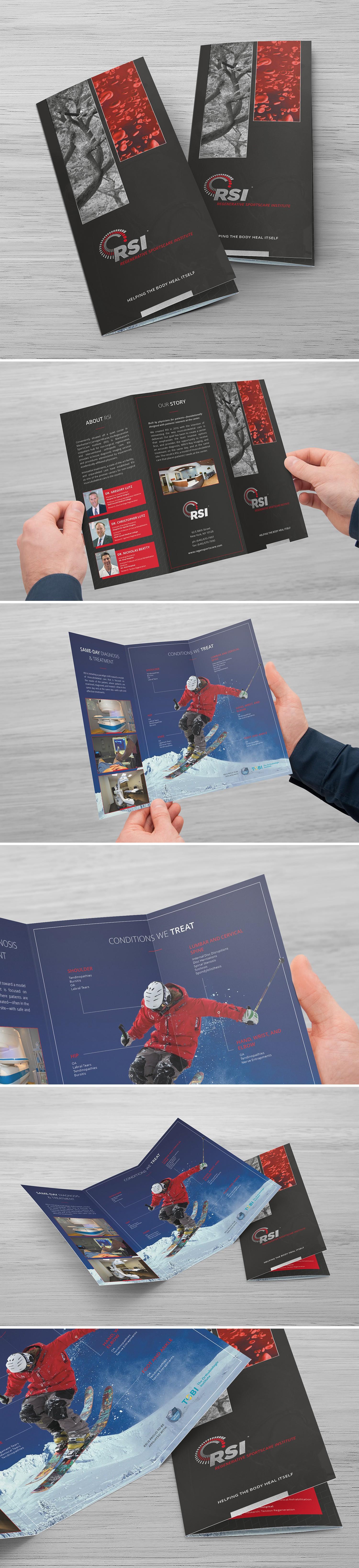 Regenerative Sports Medicine Clinic Brochure/Packet