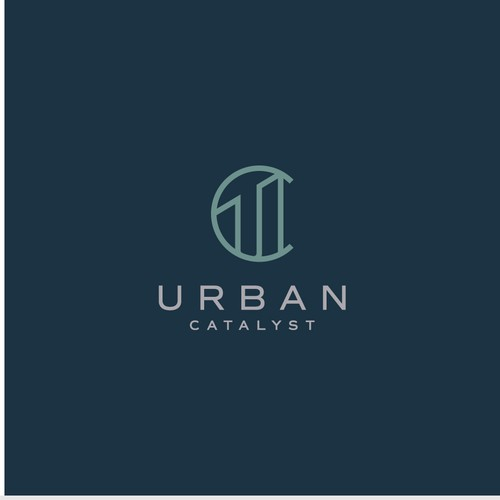 Strong logo for real estate development company