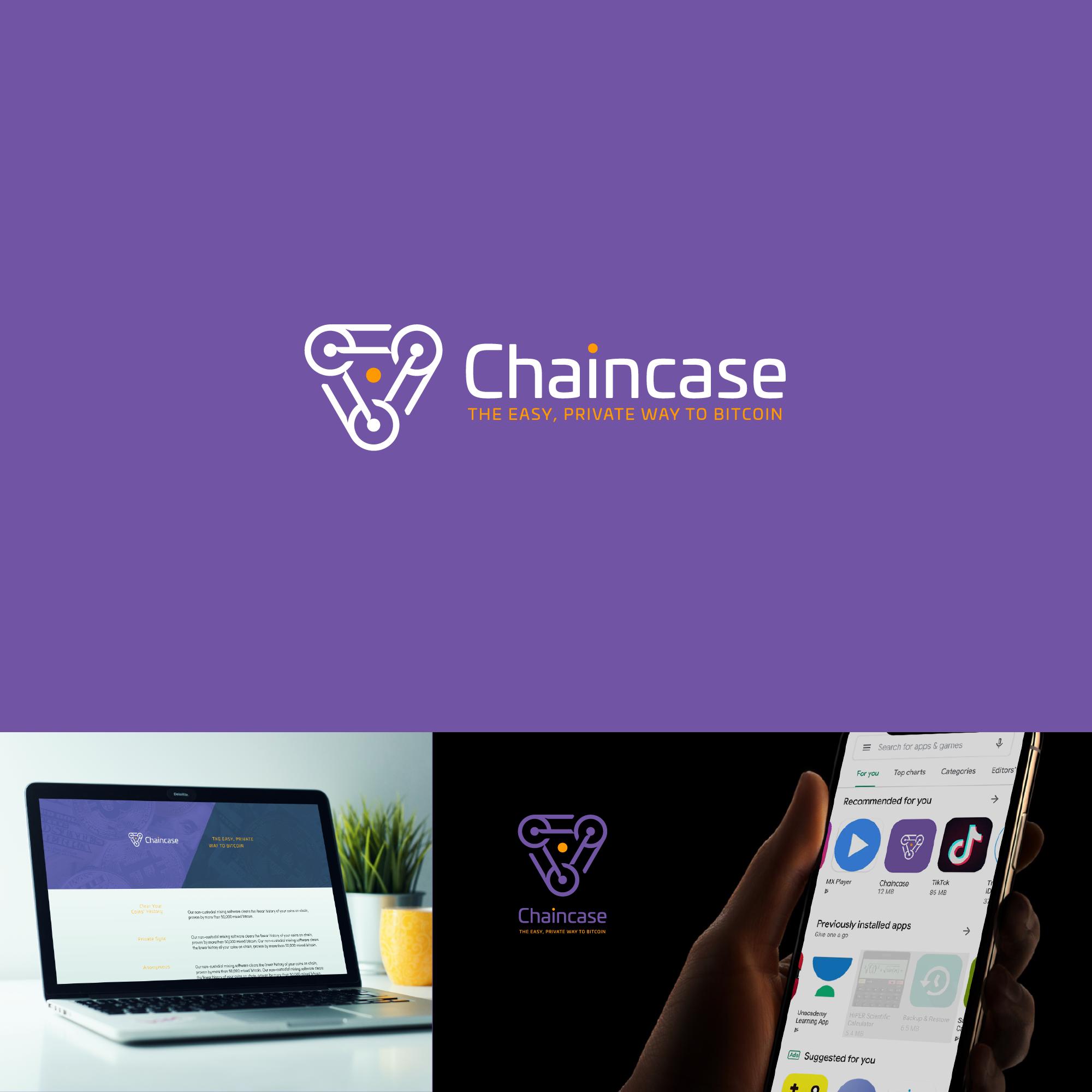 Bitcoin Privacy App Logomark for Snowmobile Inspired Brand 🗽