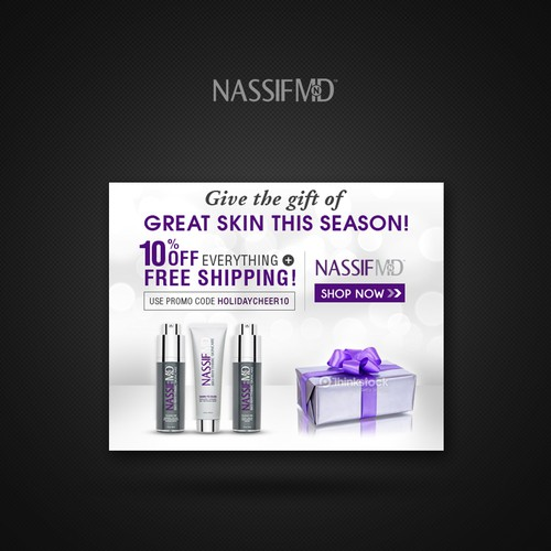 Nassif Banner - Holiday Promo Code