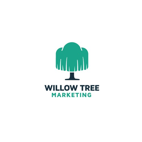 Willow Tree Marketing Logo Concept