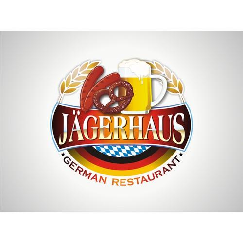 Fun logo needed for casual German restaurant.