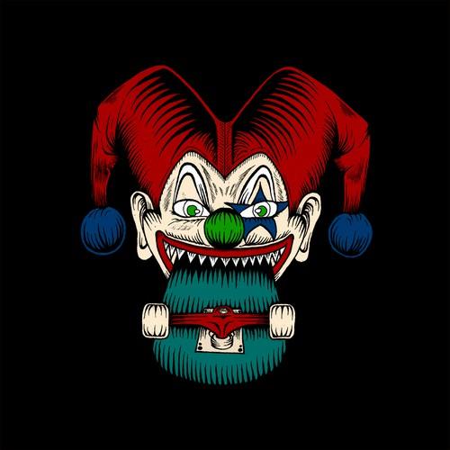 Skate Clown