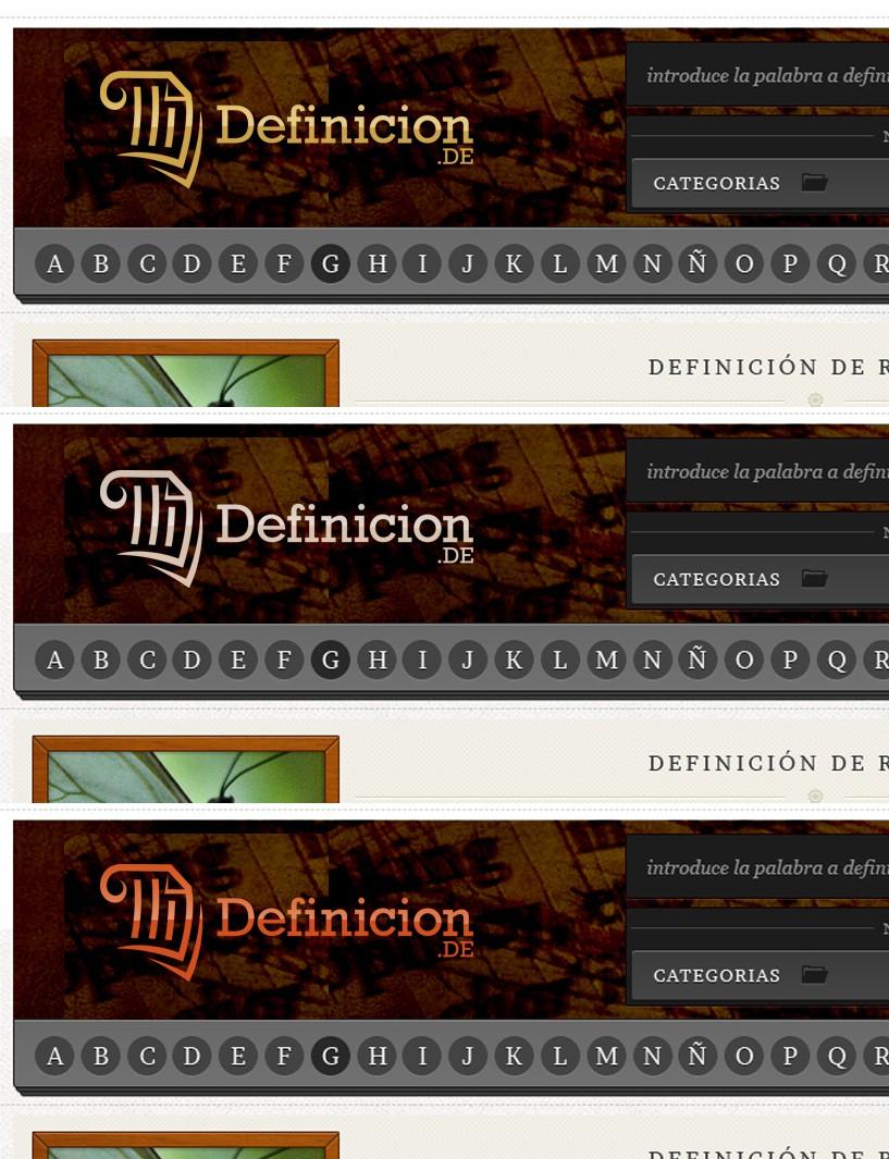 New logo wanted for Definicion.de
