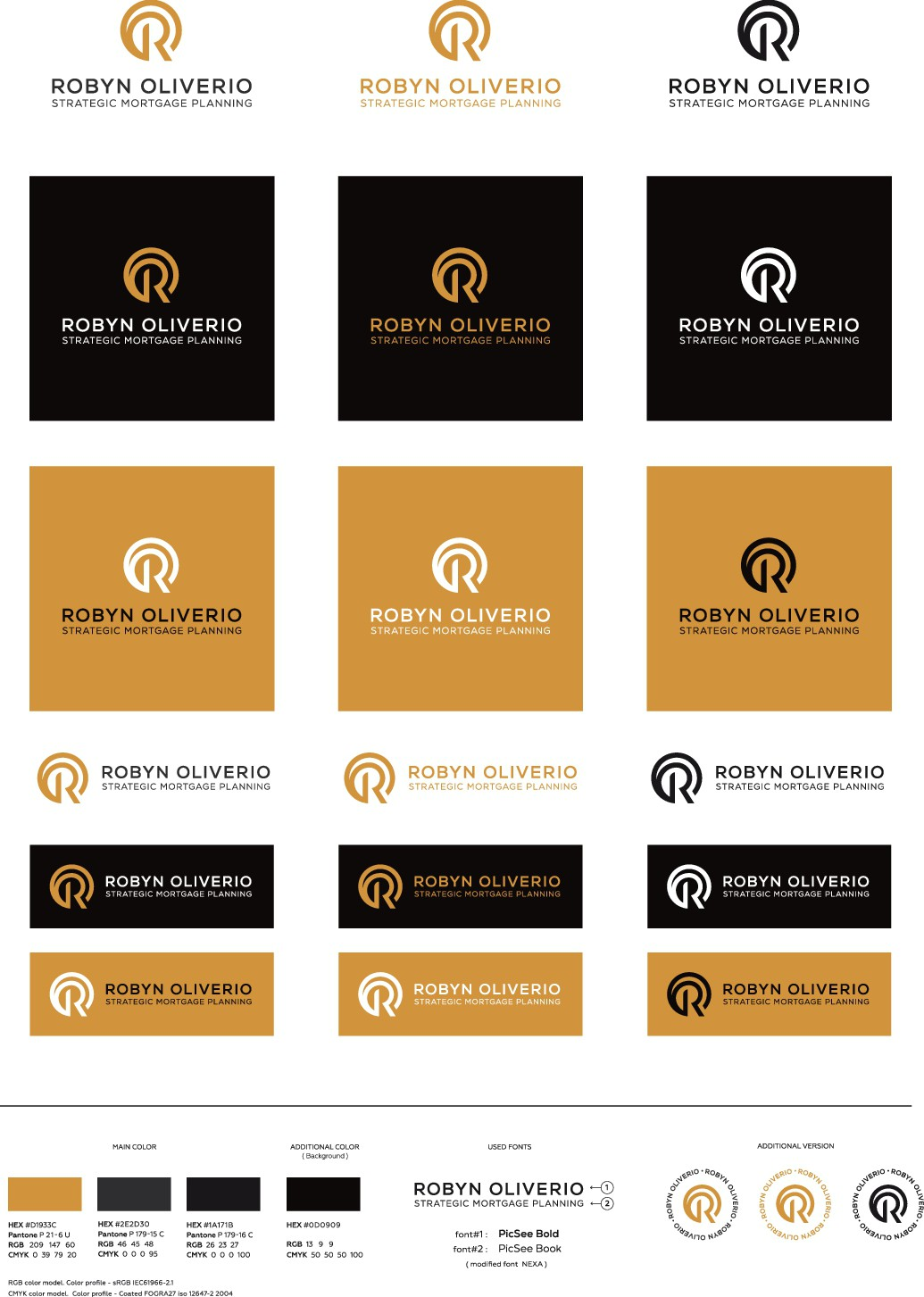 Female Mortgage Broker needs a simple professional, powerful logo designed.