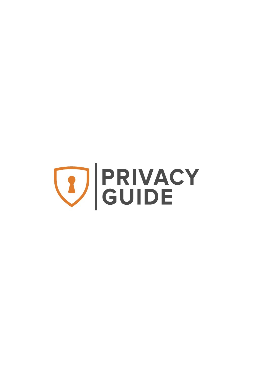 Logo for new online product: Privacy Guide
