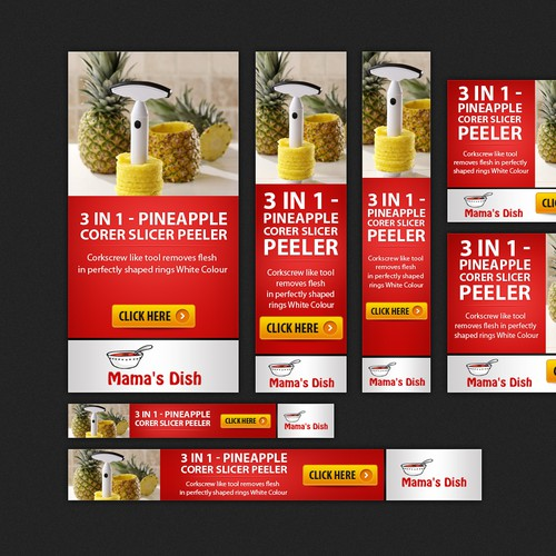 Banner Ad for Nigerian Food site