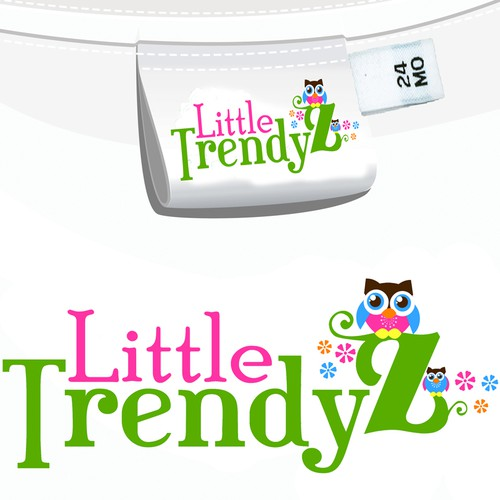 Create the next logo for little trendyz