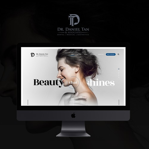 Website for dental and facial surgery clinic.