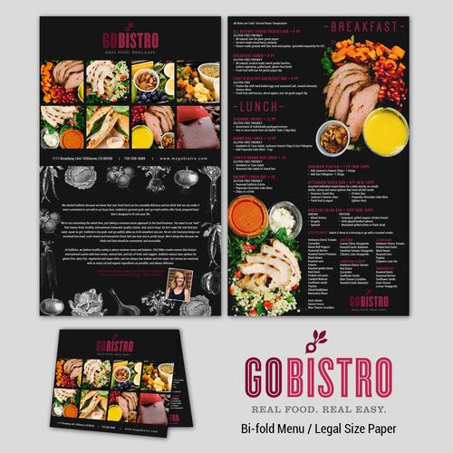 Menu for GoBistro