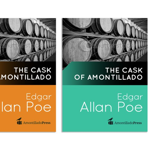generic eBook cover design wanted for Amontillado Press