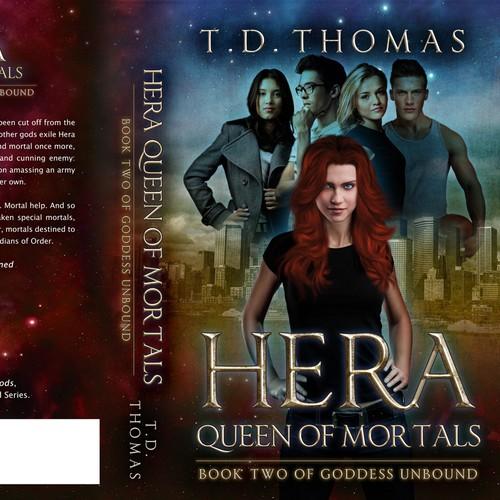 """Urban Fantasy Cover - """"Hera, Queen of Mortals"""""""