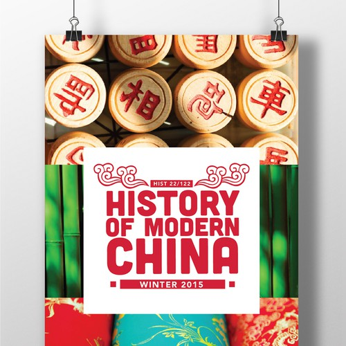 "Poster for ""History of Modern China"" University Course"