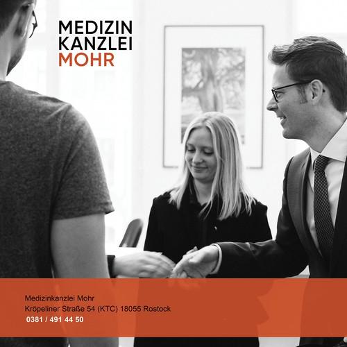 landing Page - Medizinkanzlei Mohr
