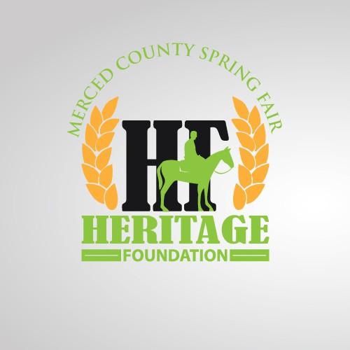 logo for Merced County Spring Fair Heritage Foundation