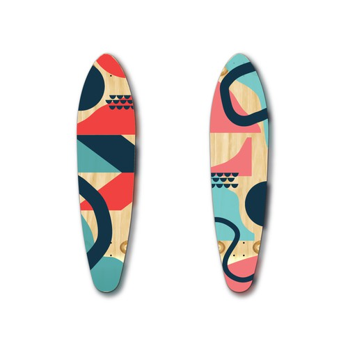 Graphic Design for longboards