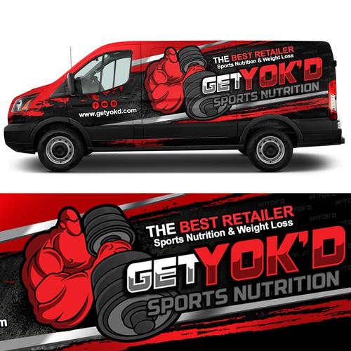 GET YOK'D Car Wrap