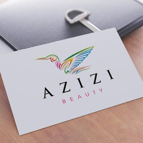 Azizi Logo Design