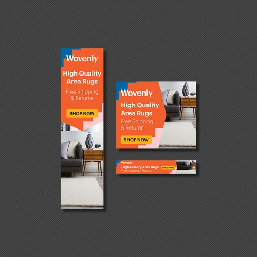 Banner Ad for Wovenly