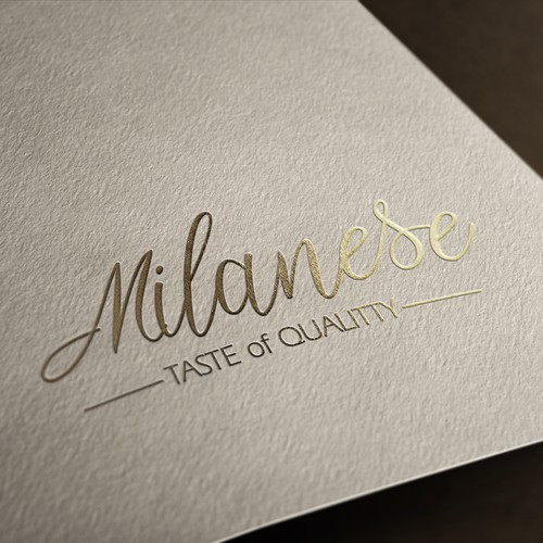 Logo design for Milan restaurant in London