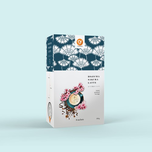 Hojicha Sakura Latte