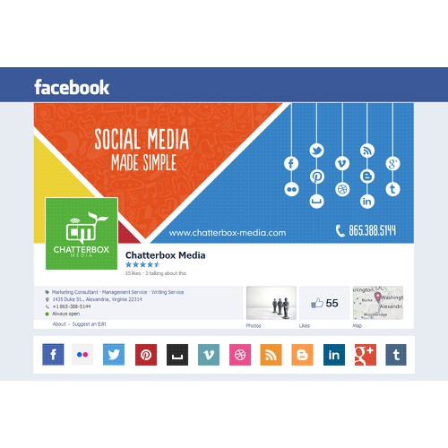 Facebook Page for Chatterbox Media