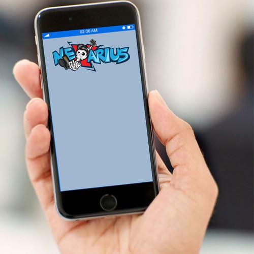 Logo for online platform